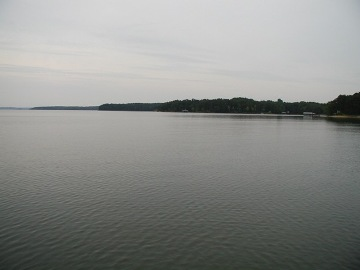 View out to Seneca River